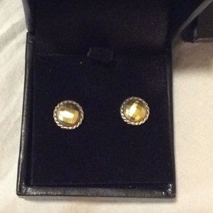 David Yurman stud earrings